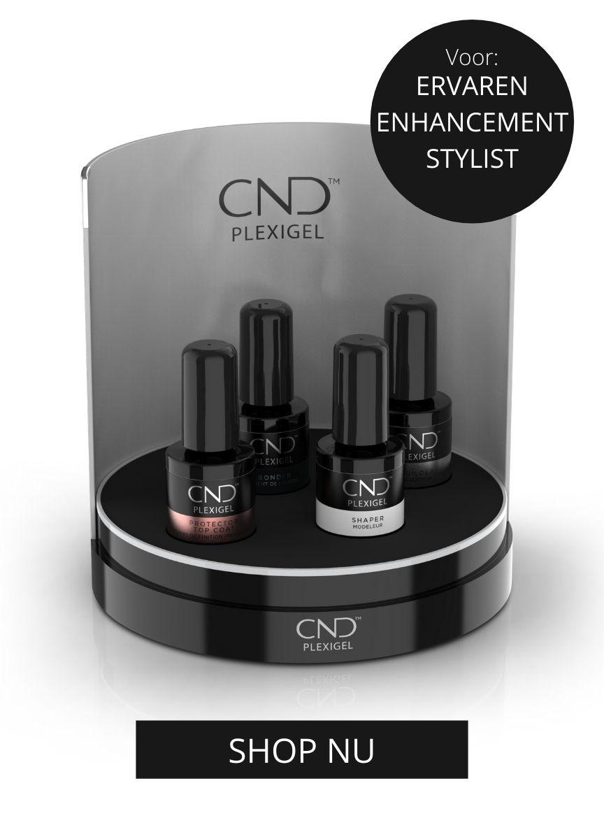 CND Flexigel  voor de ervaren nagelstyliste