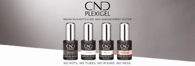 CND Plexigel Line-Up van Flesjes