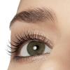 Close-up van oog met lange wimpers