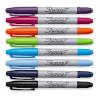 Set van Sharpie pennen in verschillende kleuren