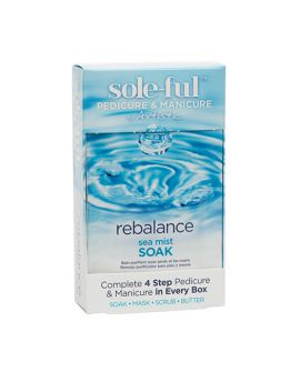 Artistic Sole-Ful Pedicure & Manicure Rebalance