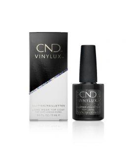 CND Vinylux Weekly Glitter Top Coat