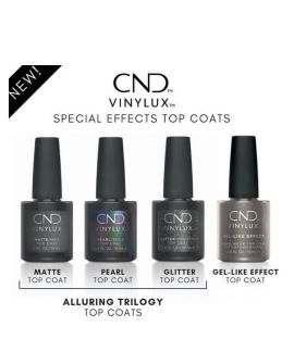 CND Vinylux Weekly Glitter Top Coat