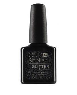 CND Shellac Topcoat Glitter