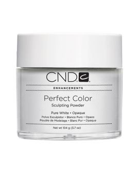 CND Perfect Color Sculpting Powder Pure White - Opaque 104g