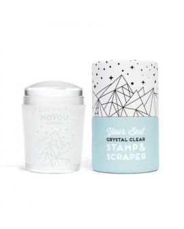 MoYou Crystal Clear Stamp & Scraper