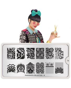 MoYou Fashionista 16 Stamping Plates