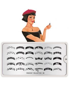 MoYou Frenchy 08 Stamping Plates