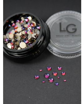 L&G Strass Purple 300pcs size 4