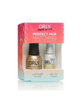 ORLY Perfect Pair GelFX + gratis nagellak Luxe