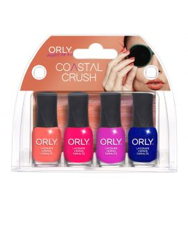 ORLY Mani Mini Coastal Crush Kit 4pc