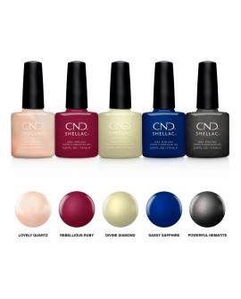 CND Shellac Crystal Alchemy Collection