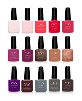 15 nieuwe exclusieve CND Shellac kleuren