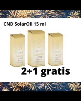 CND SolarOil 15 ml 2+1 GRATIS