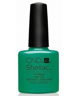 CND Shellac Art Basil 7