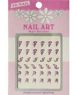 Bell'Ure 3D Nail Art Stickers
