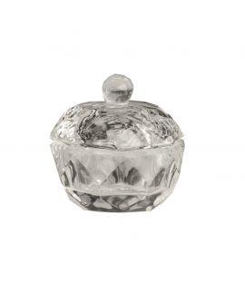 Bell'ure Dappen Dish Glas met Deksel