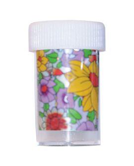 Bell'ure Nagel Folie met gekleurde bloemen
