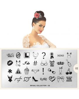 MoYou Bridal 02 Stamping Plates