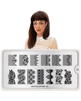 MoYou Lace 04 Stamping Plates
