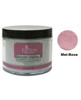 EzFlow Color Acryl Glitter Powder Mel-Rose 21g