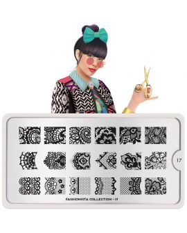 MoYou Fashionista 17 Stamping Plates