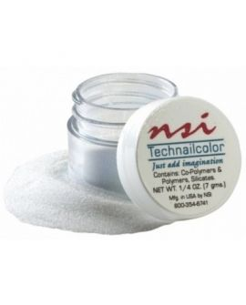 NSI Acryl Powder Superfine Bold White 7g