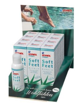 Gehwol Fusskraft Soft >Feet Mousse 125ml Display