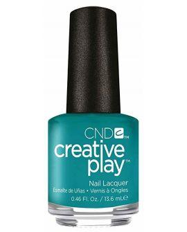 CND Creative Play Gel Polish-Head Over Teal 15ml