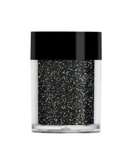 Lecenté Rainbow Black iridescent glitter