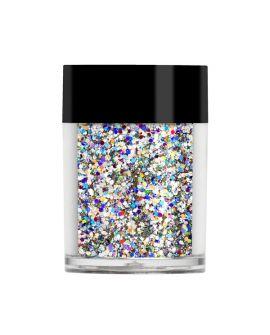 Lecenté Silver holographic multi glitz glitter