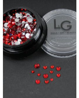 L&G Strass Red 300pcs size 4