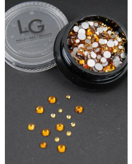 L&G Strass Yellow 300pcs size 4