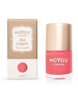 Classic Lipstick Stamping Nail Polish