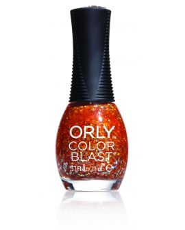 Orly Color Blast Fiery Orange Chunky Glitter 11ml