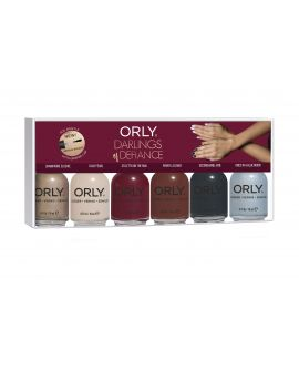 Orly - Darling Of Defiance - Set of 6
