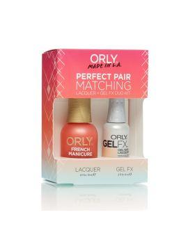 ORLY Perfect Pair GelFX + gratis nagellak Bare Rose