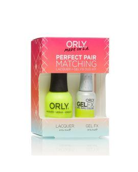 ORLY Perfect Pair GelFX + gratis nagellak Glowstick