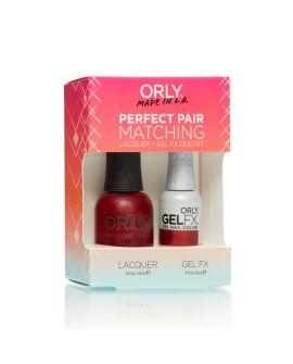 ORLY Perfect Pair GelFX + gratis nagellak Star Spangled
