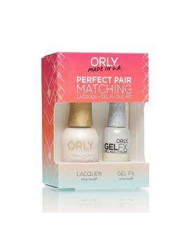 ORLY Perfect Pair GelFX + gratis nagellak White Tips