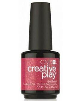 CND Creative Play Gel Polish-Revelry Red 15ml
