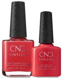 CND Dui Kit Shellac & Vinylux Soft Flame