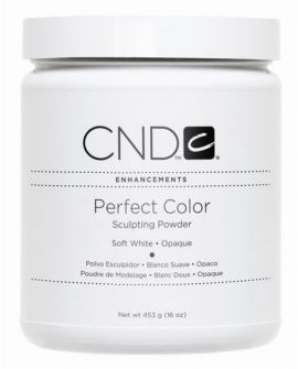 CND Perfect Color Sculpting Powder Soft White - Opaque 453g