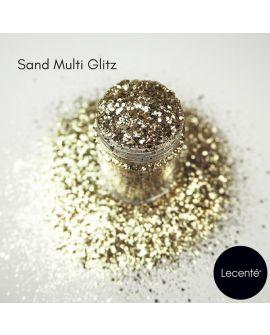 Lecenté Sand multi glitz glitter