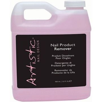 Artistic Colour Gloss Gel Nail Product Remover 960ml