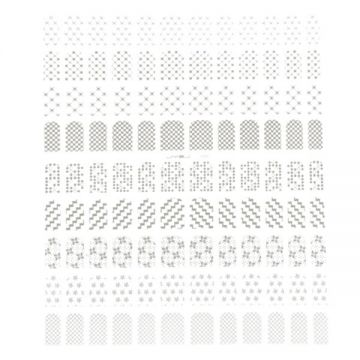 Bell'ure Filigree Stickers