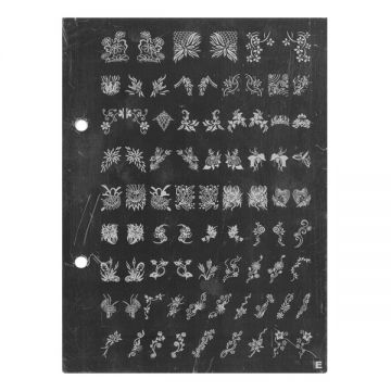 Bell'ure Image Plates Xtra Large