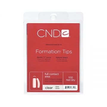 CND Formation Clear (100 pack)