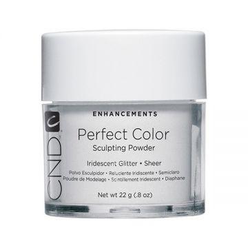 CND Perfect Color Sculpting Powder Iridescent Glitter - Sheer 22g