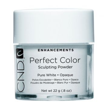 CND Perfect Color Sculpting Powder Pure White - Opaque 22g